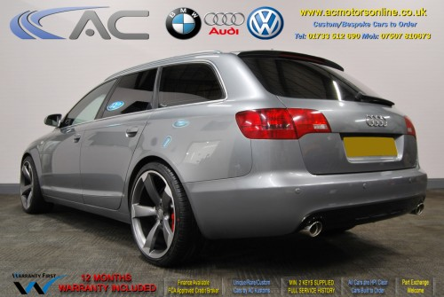 AUDI A6 AVANT (RS/RS6 STYLE) S-Line 2.0TDI (2008) - 140BHP - (Image 5)