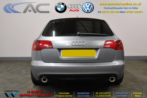 AUDI A6 AVANT (RS/RS6 STYLE) S-Line 2.0TDI (2008) - 140BHP - (Image 6)