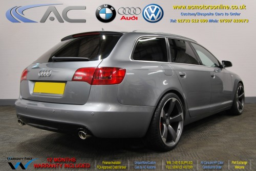 AUDI A6 AVANT (RS/RS6 STYLE) S-Line 2.0TDI (2008) - 140BHP - (Image 7)