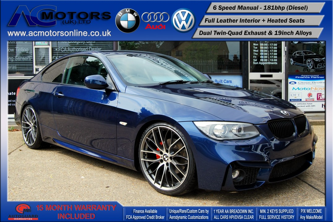 BMW 320D M3/M4 (AC LCI Design) Coupe (2010) - 181bhp