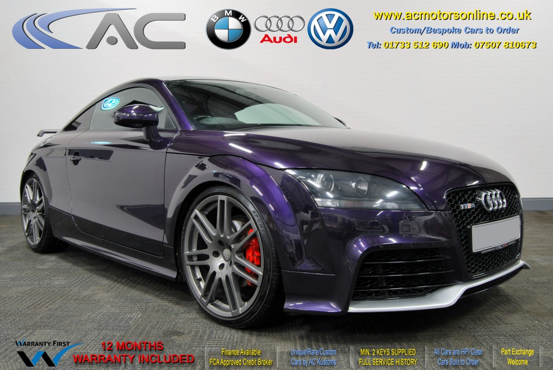 AUDI 2.0 TFSI (TTRS REPLICA) 2DR Coupe (2008) - 200bhp - (Image 1)