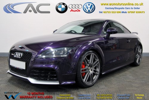 AUDI 2.0 TFSI (TTRS REPLICA) 2DR Coupe (2008) - 200bhp - (Image 3)