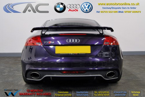 AUDI 2.0 TFSI (TTRS REPLICA) 2DR Coupe (2008) - 200bhp - (Image 6)