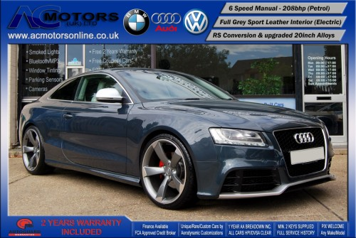 Audi A5 (RS Conversion) 2.0 TFSI (2009) - 208bhp - (Image 1)