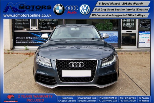 Audi A5 (RS Conversion) 2.0 TFSI (2009) - 208bhp - (Image 2)
