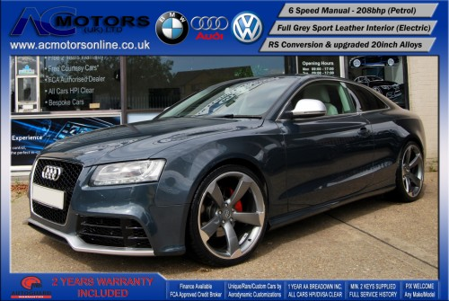 Audi A5 (RS Conversion) 2.0 TFSI (2009) - 208bhp - (Image 3)