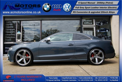 Audi A5 (RS Conversion) 2.0 TFSI (2009) - 208bhp - (Image 4)