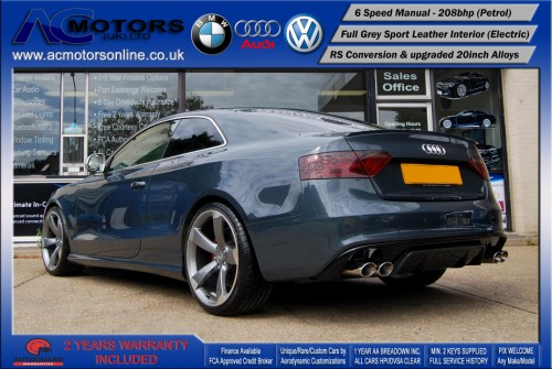 Audi A5 (RS Conversion) 2.0 TFSI (2009) - 208bhp - (Image 5)