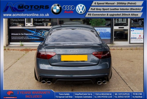 Audi A5 (RS Conversion) 2.0 TFSI (2009) - 208bhp - (Image 6)