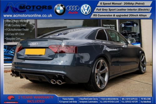 Audi A5 (RS Conversion) 2.0 TFSI (2009) - 208bhp - (Image 7)