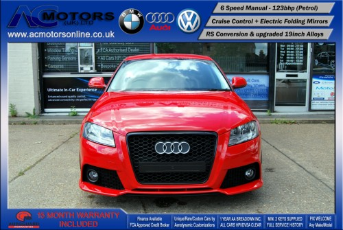 Audi A3 (RS/RS3 Style) - 1.4 TFSI (2008) - 123bhp - (Image 2)