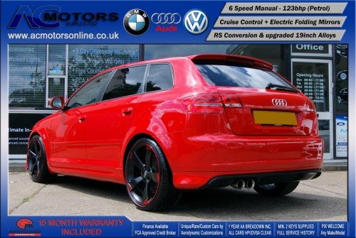 Audi A3 (RS/RS3 Style) - 1.4 TFSI (2008) - 123bhp - (Image 5)