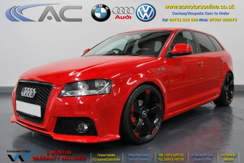 Audi A3 (RS/RS3 Style) - 1.4 TFSI (2008) - 123bhp - (Image 3)