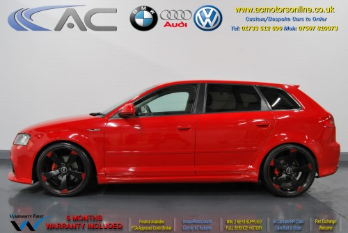 Audi A3 (RS/RS3 Style) - 1.4 TFSI (2008) - 123bhp - (Image 4)