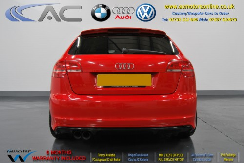 Audi A3 (RS/RS3 Style) - 1.4 TFSI (2008) - 123bhp - (Image 6)