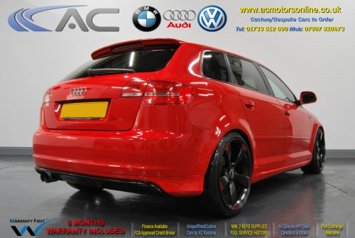 Audi A3 (RS/RS3 Style) - 1.4 TFSI (2008) - 123bhp - (Image 7)