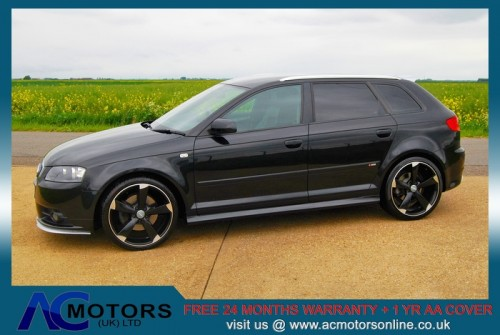 Audi A3 (RS3 REPLICA) - 2.0 TFSI S-Line (2006) - S-Tronic - (Image 4)