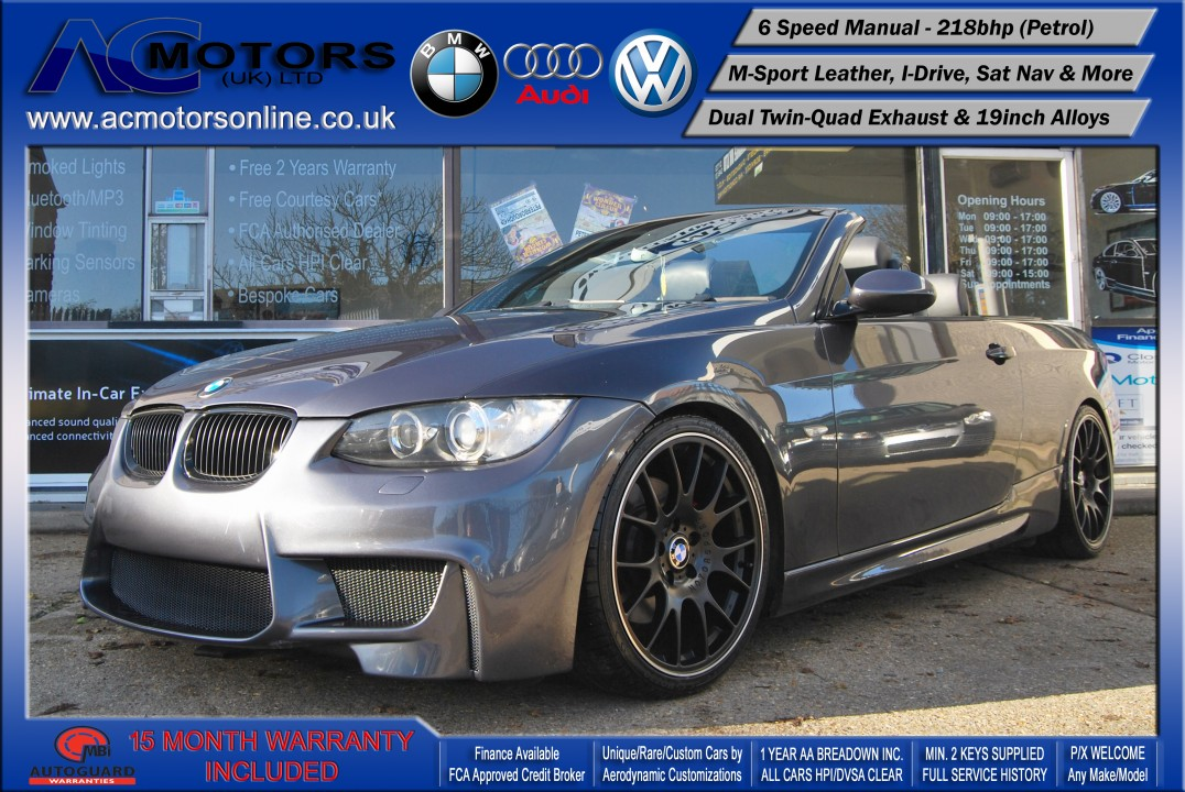 BMW 325I M3 (AC AERO KIT) Convertible (2007) - 218bhp