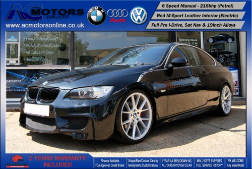 BMW 325I SE (AC AERO KIT) Coupe (2007) - 218bhp - (Image 3)