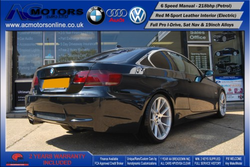BMW 325I SE (AC AERO KIT) Coupe (2007) - 218bhp - (Image 5)