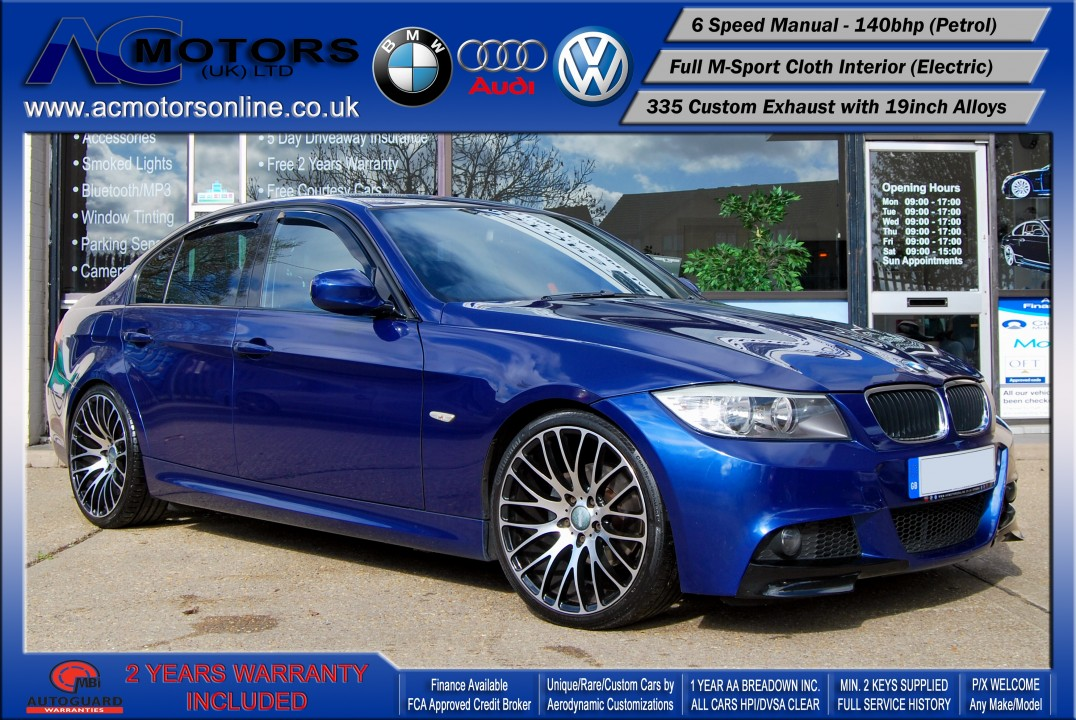 BMW 318I M-Sport 335 Replica (2009) - TWIN EXHAUST