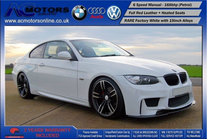 BMW 320I Highline (AC AERO KIT) Coupe (2009) - 168bhp