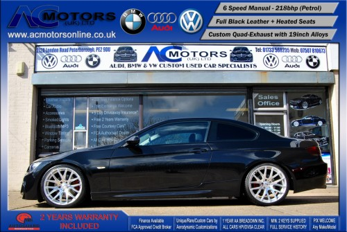 BMW 325I SE (AC AERO KIT) Coupe (2007) - 218bhp - (Image 4)