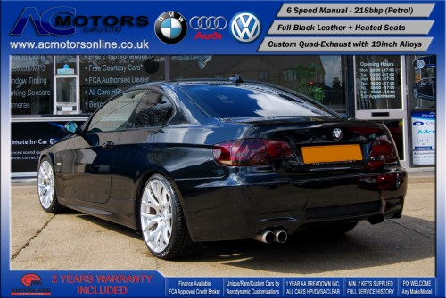 BMW 325I SE (AC AERO KIT) Coupe (2007) - 218bhp - (Image 7)