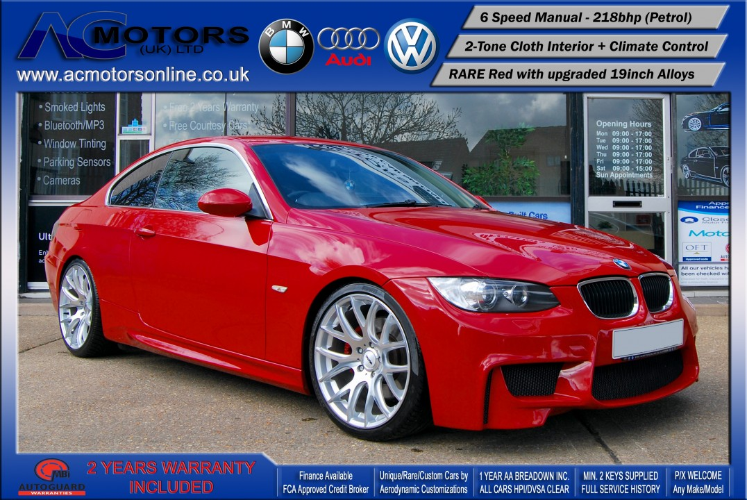 BMW 325I SE (AC AERO KIT) Coupe (2007) - 218bhp