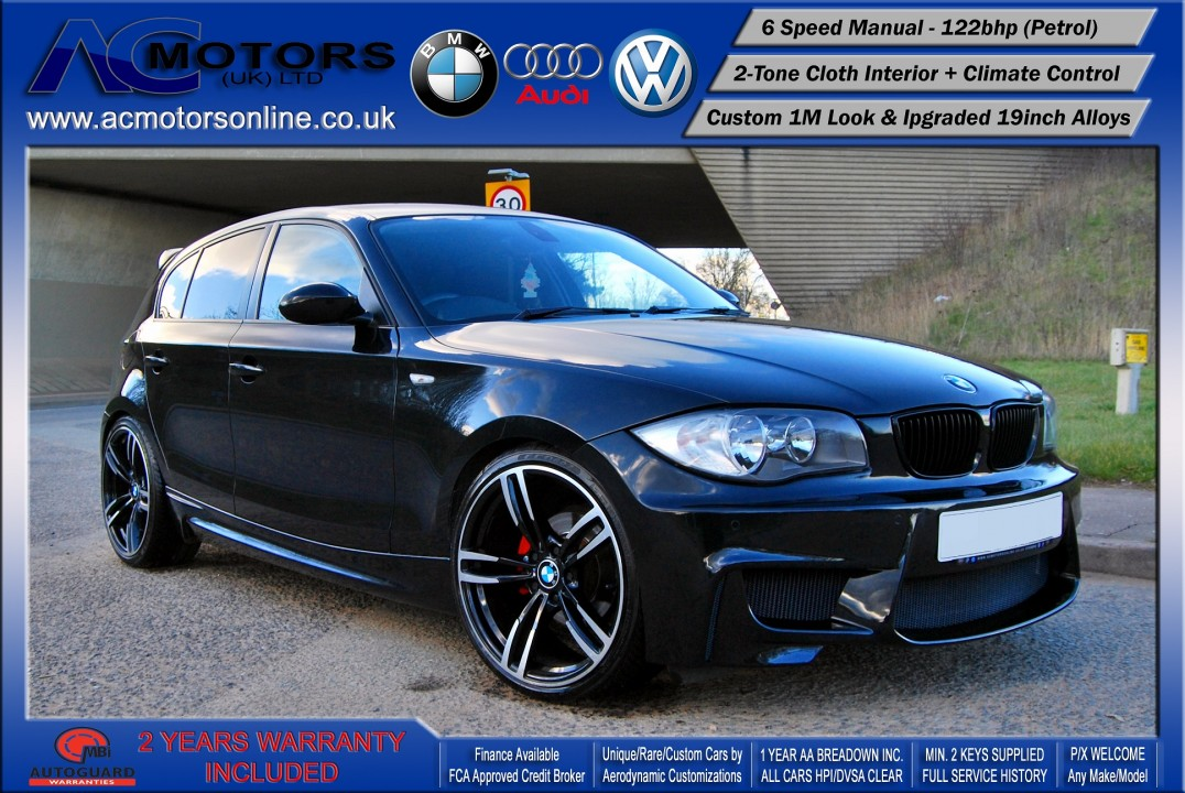 BMW 116i (2008) AC PDM KIT - 122bhp Version