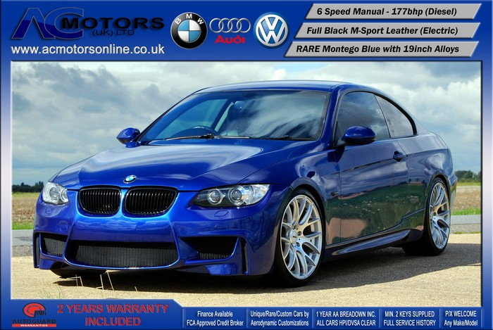 BMW 320D SE (AC AERO KIT) Coupe (2007) - 177bhp