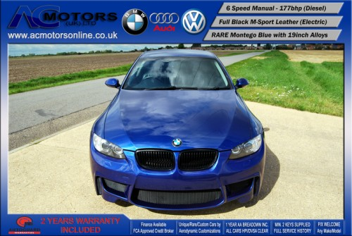 BMW 320D SE (AC AERO KIT) Coupe (2007) - 177bhp - (Image 2)