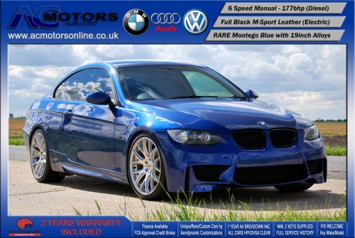 BMW 320D SE (AC AERO KIT) Coupe (2007) - 177bhp - (Image 3)