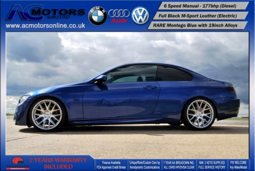 BMW 320D SE (AC AERO KIT) Coupe (2007) - 177bhp - (Image 4)
