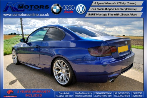 BMW 320D SE (AC AERO KIT) Coupe (2007) - 177bhp - (Image 6)