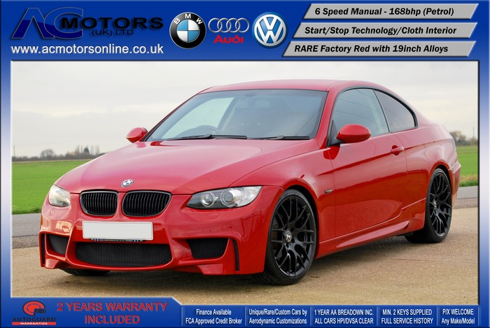 BMW 320I SE (AC AERO KIT) Coupe (2007) - 170bhp