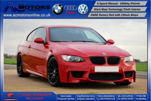 BMW 320I SE (AC AERO KIT) Coupe (2007) - 170bhp - (Image 3)