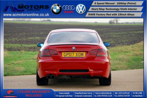 BMW 320I SE (AC AERO KIT) Coupe (2007) - 170bhp - (Image 6)