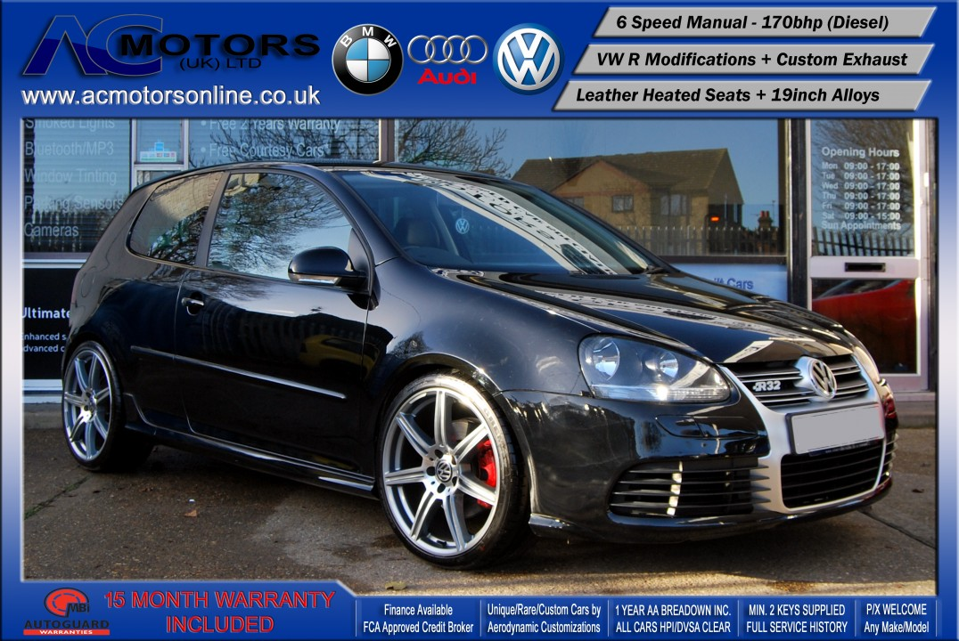 VW Golf (R / R32 REPLICA) GT Sport TDI (2008) - 170bhp
