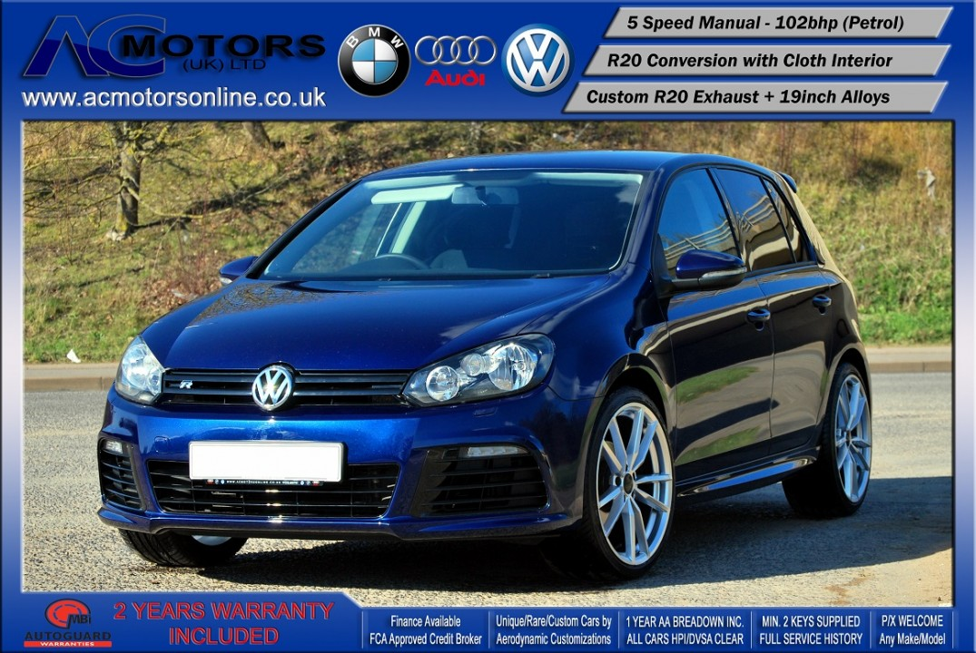 VW Golf R20 Replica 1.6 S (2009) - 102bhp