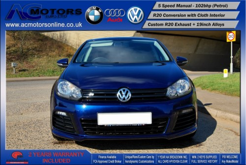 VW Golf R20 Replica 1.6 S (2009) - 102bhp - (Image 2)