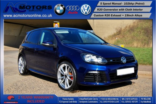 VW Golf R20 Replica 1.6 S (2009) - 102bhp - (Image 3)