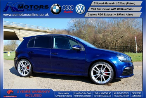 VW Golf R20 Replica 1.6 S (2009) - 102bhp - (Image 4)