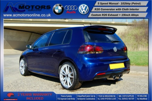 VW Golf R20 Replica 1.6 S (2009) - 102bhp - (Image 5)