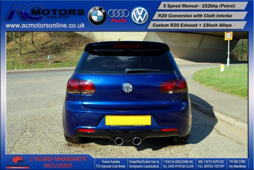 VW Golf R20 Replica 1.6 S (2009) - 102bhp - (Image 6)