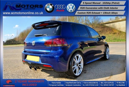 VW Golf R20 Replica 1.6 S (2009) - 102bhp - (Image 7)