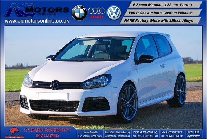 VW Golf R20 Replica 1.4 TSI SE (2009) - 122bhp
