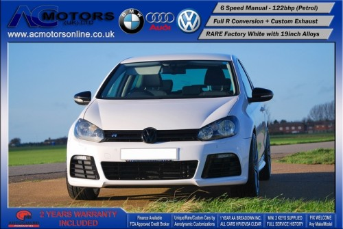 VW Golf R20 Replica 1.4 TSI SE (2009) - 122bhp - (Image 2)