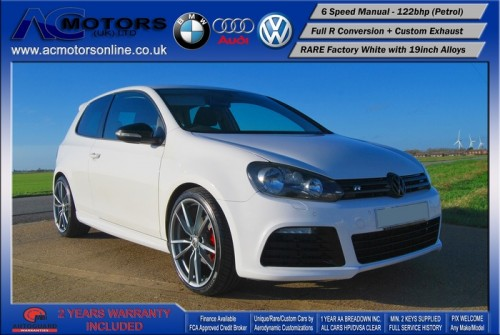 VW Golf R20 Replica 1.4 TSI SE (2009) - 122bhp - (Image 3)