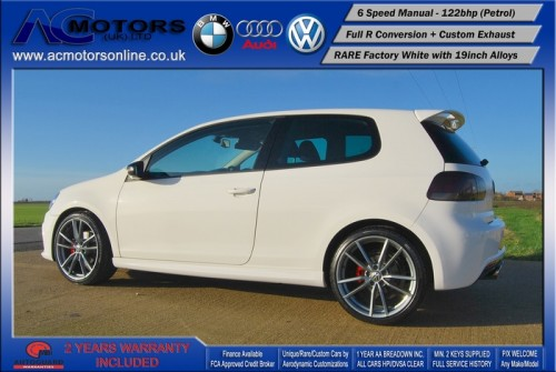 VW Golf R20 Replica 1.4 TSI SE (2009) - 122bhp - (Image 4)
